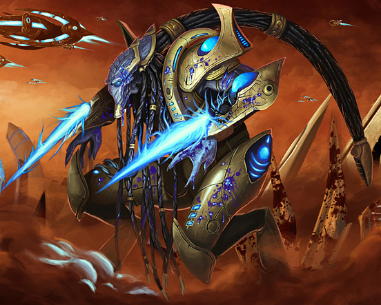 Injured Protoss Zealot 55 Captivating Examples of Illustration Art