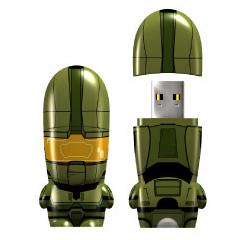 MasterChiefDriveSingle 55 Creative Examples of USB Designs