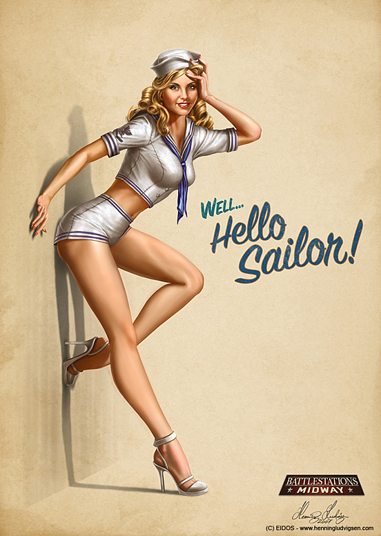NavyGirl 55 Captivating Examples of Illustration Art