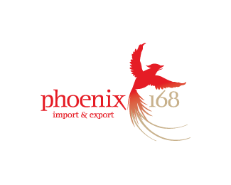 Phoenix 168 70 Beautiful Animal Logo Designs