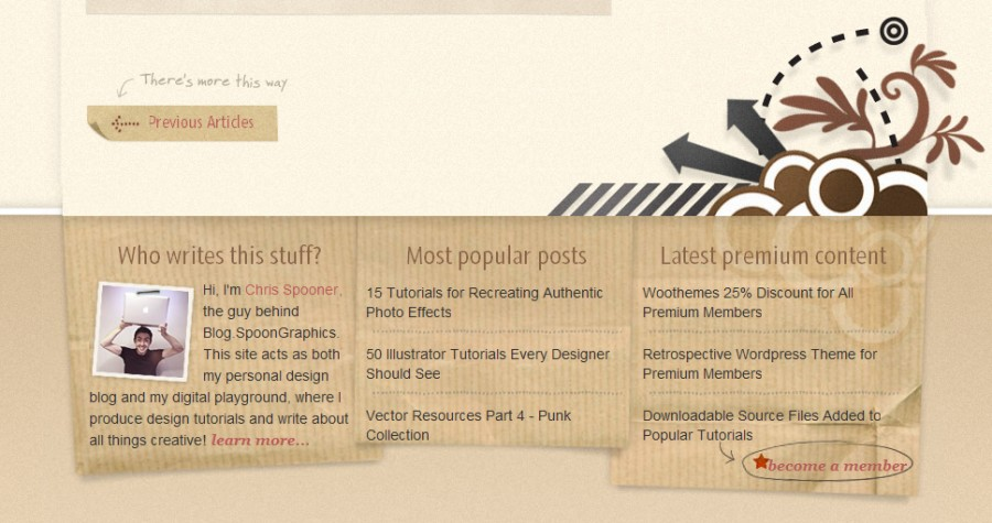 Spoongraphics 60 Inspiring Footer Designs