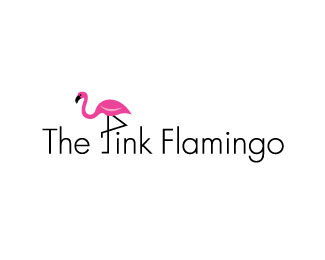 The Pink Flamingo 70 Beautiful Animal Logo Designs