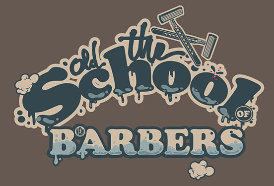 The old school of new barbers 50 Remarkable Examples of Typography Design