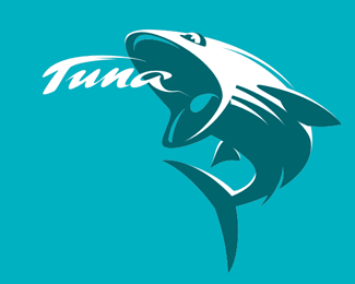 Tuna 70 Beautiful Animal Logo Designs