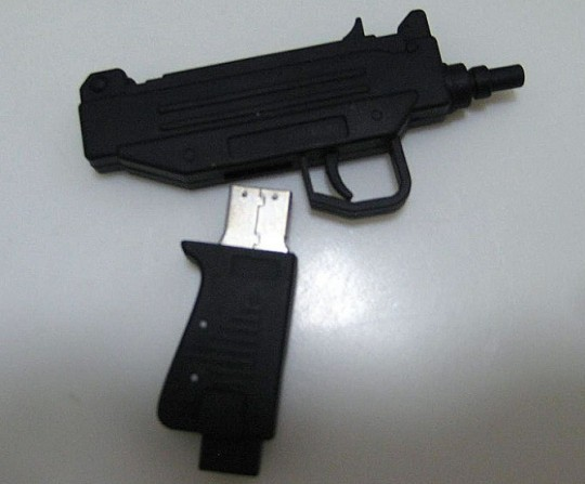 UZI USB 55 Creative Examples of USB Designs