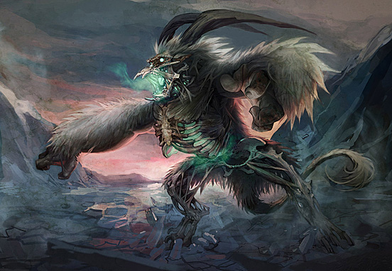 Undead Arctic Creature 55 Captivating Examples of Illustration  Art