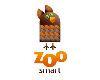 ZooSmart1 70 Beautiful Animal Logo Designs