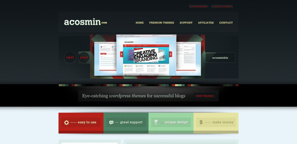 acosmin 1024x496 31 Websites to Purchase Premium Wordpress Themes