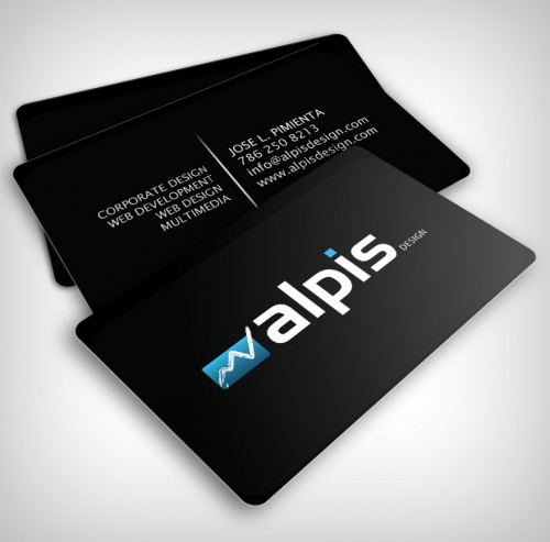 creative picture ideas of yourself - 95 Beautiful Business Card Designs