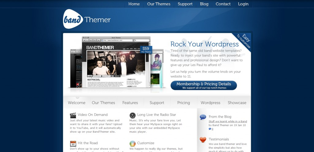 bandthemer 1024x496 31 Websites to Purchase Premium Wordpress Themes