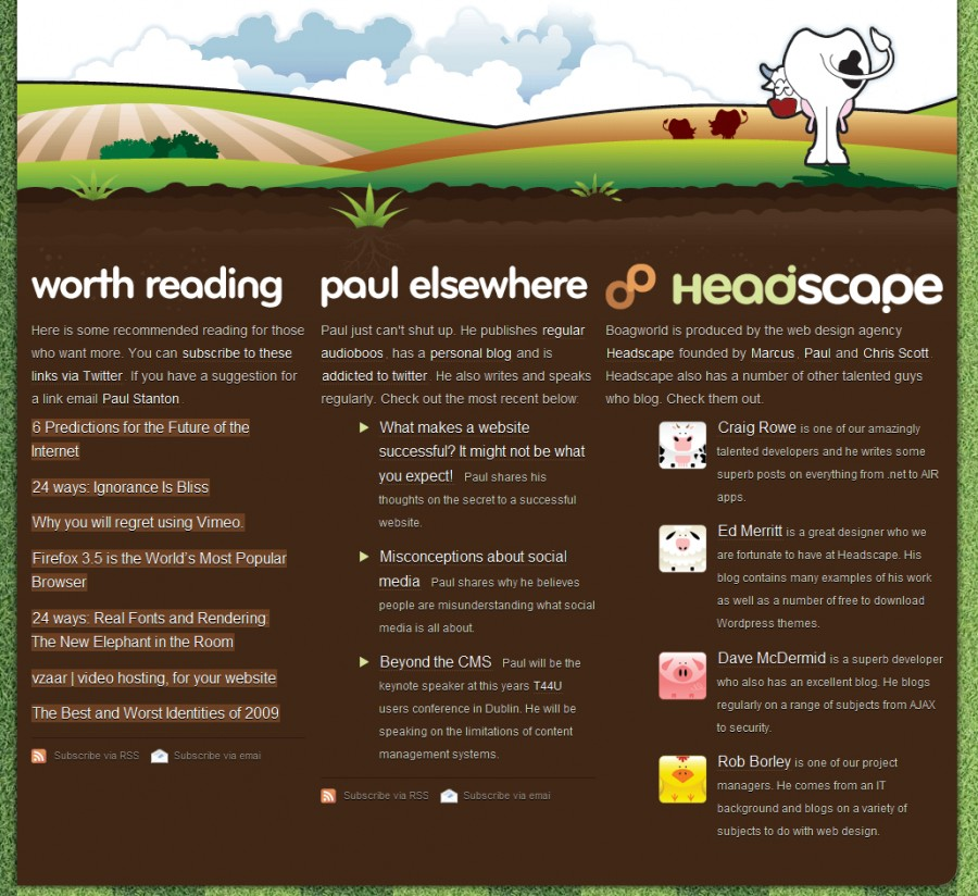boagworld 60 Inspiring Footer Designs