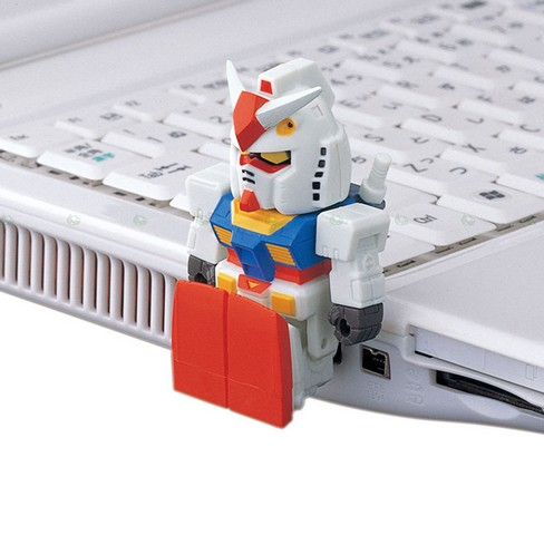 buffalo usb gadgets lupin gundam flash drive 7 55 Creative Examples of USB Designs