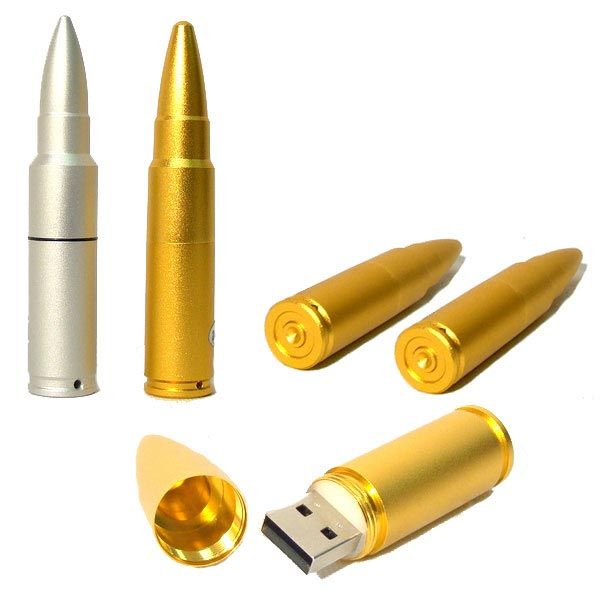 bullet usb drive 55 Creative Examples of USB Designs