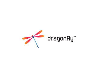 dragonfly 70 Beautiful Animal Logo Designs