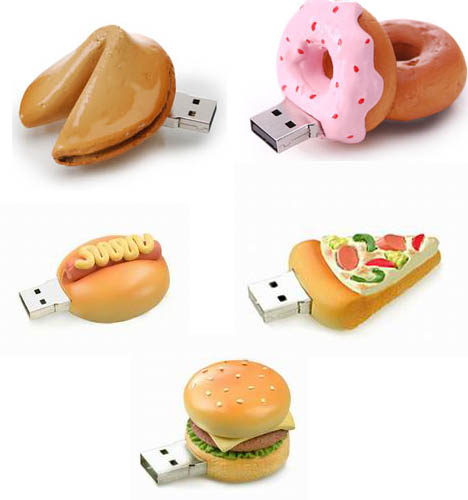 food usb 55 Creative Examples of USB Designs
