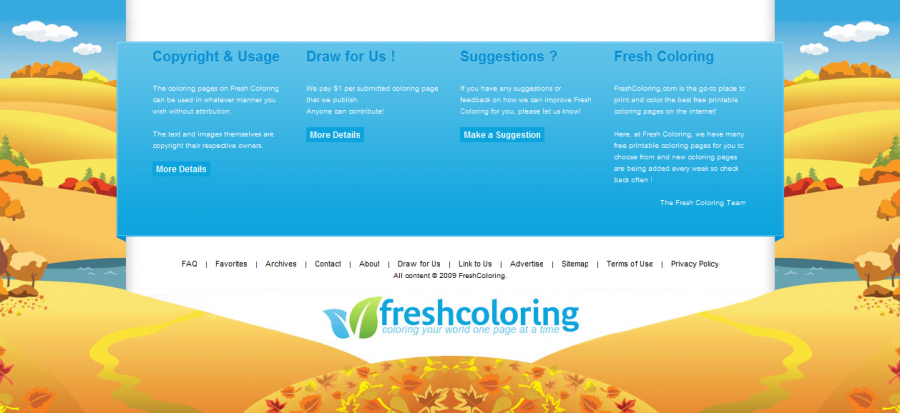 freshcoloring 60 Inspiring Footer Designs