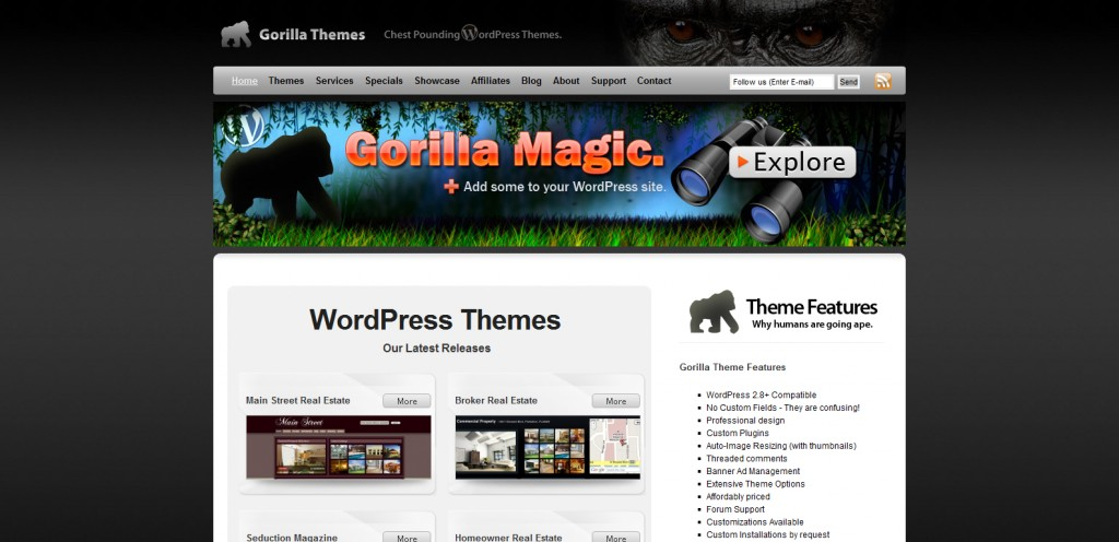 gorillathemes 1024x496 31 Websites to Purchase Premium Wordpress Themes
