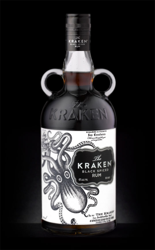 kraken 60 Temptingly Designed Alcoholic Beverages