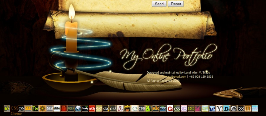 lendlallenvtrazo 60 Inspiring Footer Designs