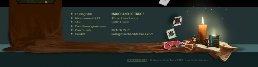 marchanddetrucs 60 Inspiring Footer Designs