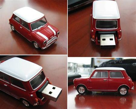 min cooper 55 Creative Examples of USB Designs