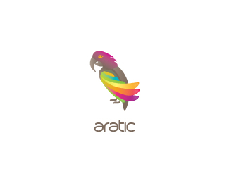 parrot 70 Beautiful Animal Logo Designs