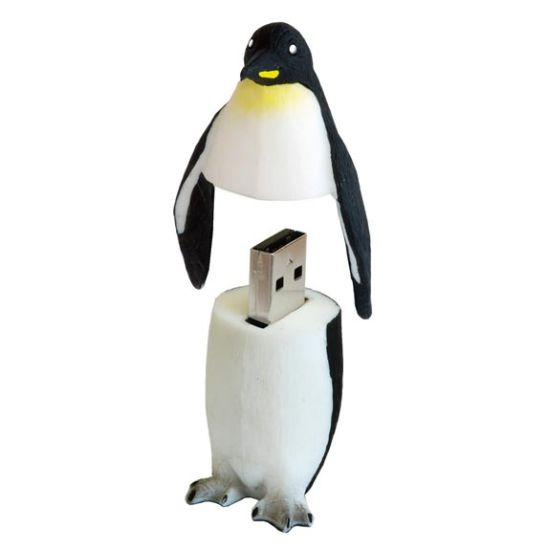 penguin usb drive 55 Creative Examples of USB Designs