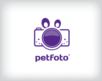 petfoto 70 Beautiful Animal Logo Designs