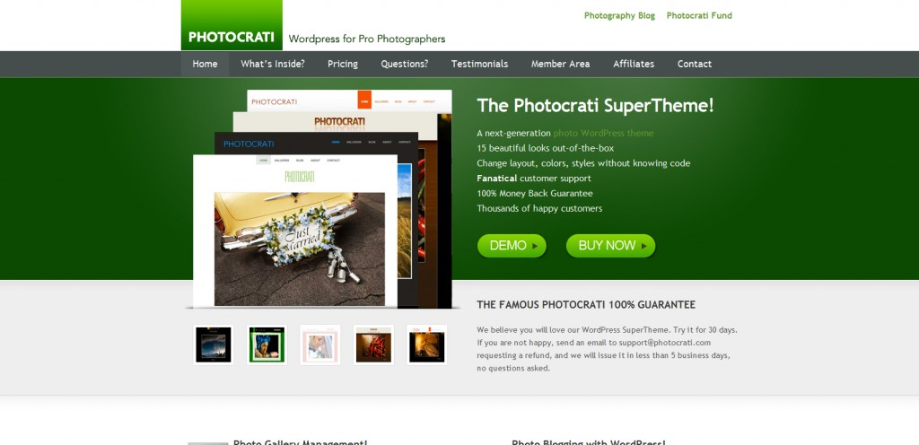 photocrati 1024x496 31 Websites to Purchase Premium Wordpress Themes