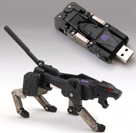 ravage transformers usb flash drive 55 Creative Examples of USB Designs