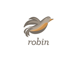 robin 70 Beautiful Animal Logo Designs