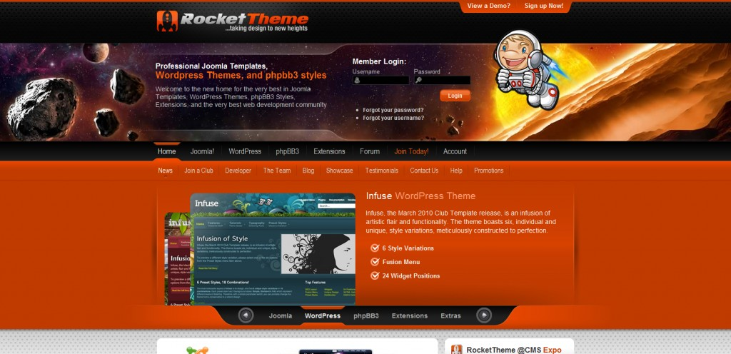 rockettheme 1024x496 31 Websites to Purchase Premium Wordpress Themes