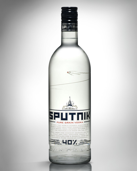 sputnik 60 Temptingly Designed Alcoholic Beverages