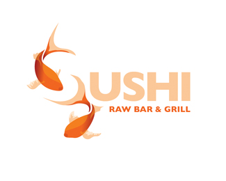 sushi 70 Beautiful Animal Logo Designs