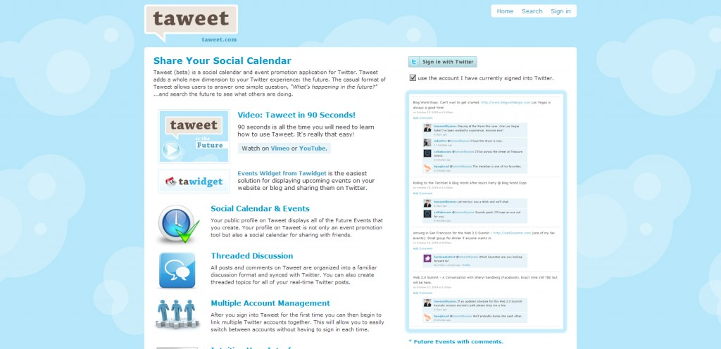 taweet 1024x496 18 Tools for Scheduling Future Tweets