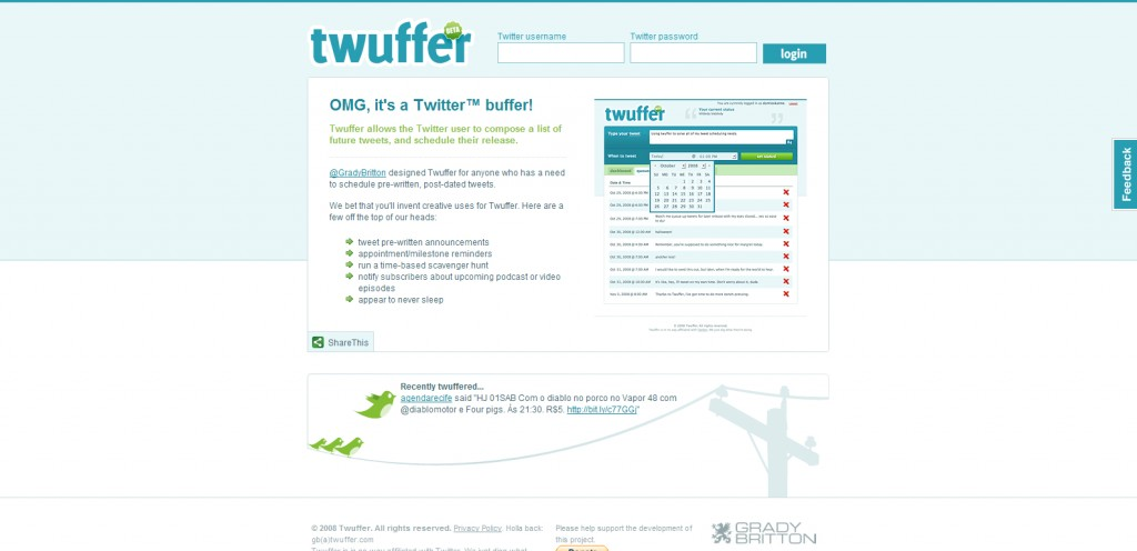 twuffer 1024x496 18 Tools for Scheduling Future Tweets