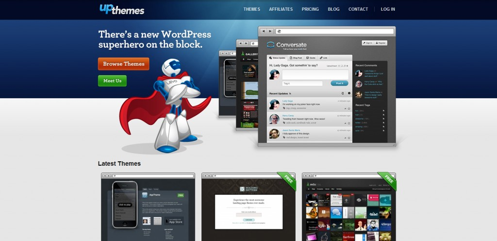 upthemes 1024x496 31 Websites to Purchase Premium Wordpress Themes