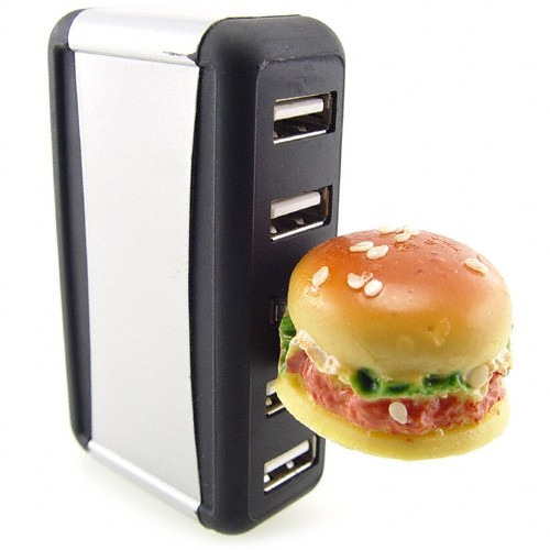 usb drive food burger 55 Creative Examples of USB Designs