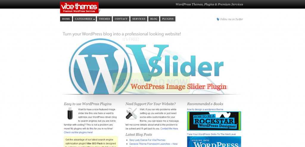 vibethemes 1024x496 31 Websites to Purchase Premium Wordpress Themes