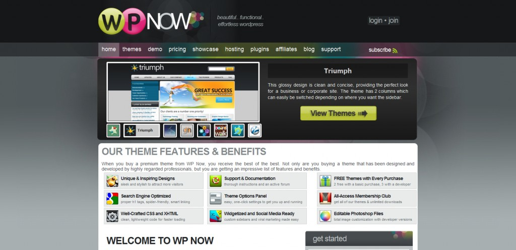 wpnow 1024x496 31 Websites to Purchase Premium Wordpress Themes