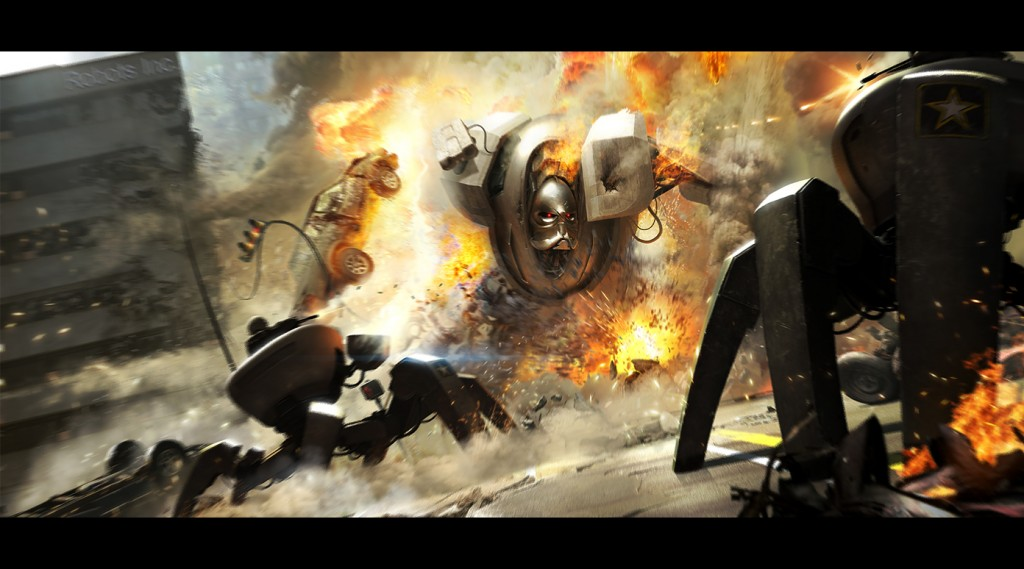 Robots 1024x569 Stunning Digital Art by Andree Wallin