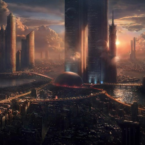 iPad Wallpapers future city 500x500 138 Striking Ipad Wallpapers