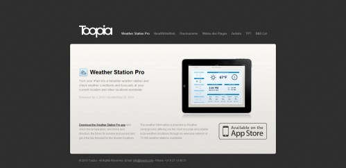 out 5 499x242 49 Creative iPad Application Websites