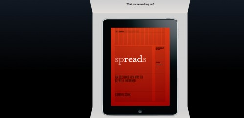spreadsapp 499x242 49 Creative iPad Application Websites