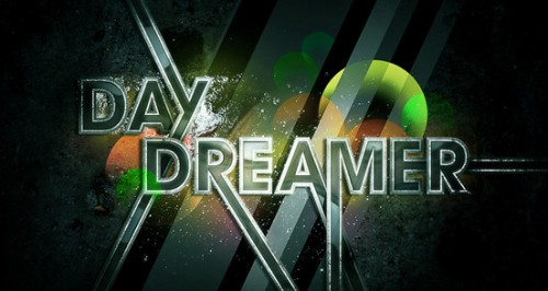 day dreamer 500x266 50 Remarkable Examples of Typography Design #2