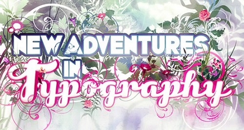 new adventures 500x266 50 Remarkable Examples of Typography Design #2