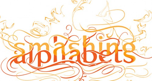 smashing 500x266 50 Remarkable Examples of Typography Design #2
