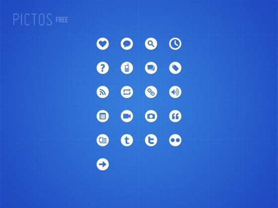 Pictos Free 560x4201 50 Pixel Perfect Icons Sets for Your Collection!