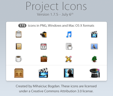 Project Icons  Version 1 7 5 by bogo d1 50 Pixel Perfect Icons Sets for Your Collection!