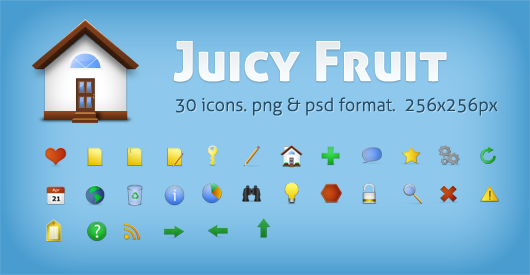 juicyfruit inside post1 50 Pixel Perfect Icons Sets for Your Collection!